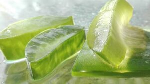 aloe vera gel for sunburn blisters